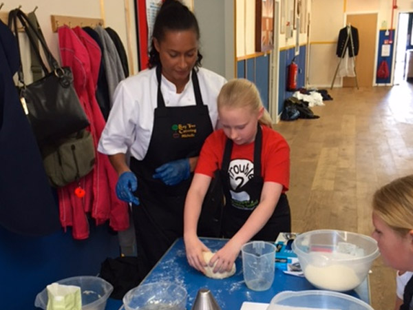 Gallery: Cookery lesson