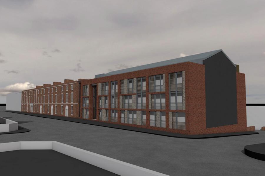 King Barracks 3d render